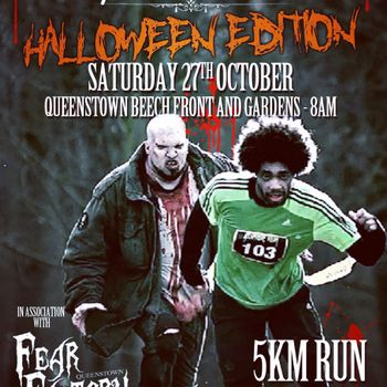 Parkrun Queenstown Halloween Edition