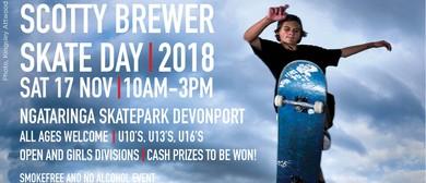 Scotty Brewer Skate Day 2018