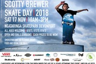Image for event: Scotty Brewer Skate Day 2018