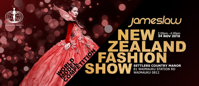 James Law World Model Competition NZ Fashion Show