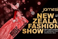 Image for event: James Law World Model Competition NZ Fashion Show