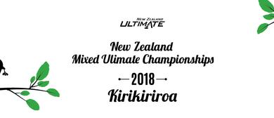 New Zealand Mixed Ultimate Frisbee Championships 2018