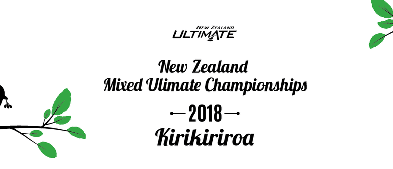 New Zealand Mixed Ultimate Frisbee Championships 2018