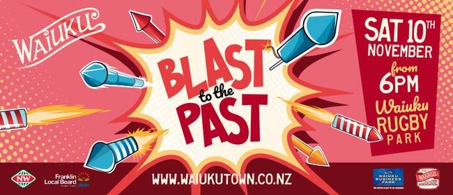 Waiuku Blast to The Past Fireworks Display