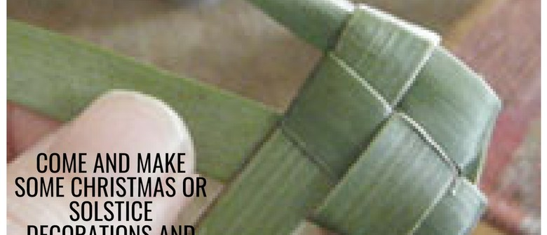 Flax Weaving For Kids (10 years+)