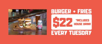 D4 Weekly Deals: Burger Tuesdays