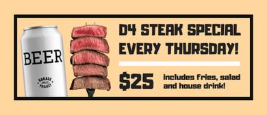 D4 Weekly Deals: Steak Special