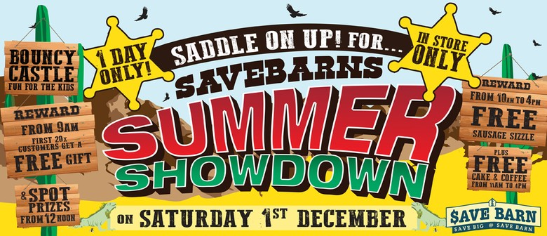 Saddle Up for Save Barn Summer Showdown!