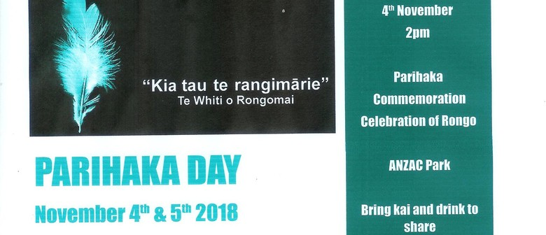 Parihaka Day Peace Picnic and Dawn Blessing