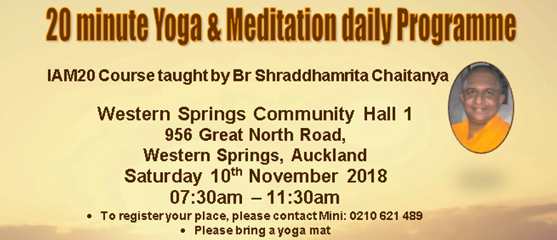 20-Minute Yoga & Meditation Daily Programme – Intro Course
