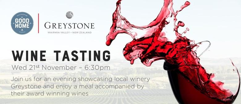 Wine Tasting - Greystone Wines
