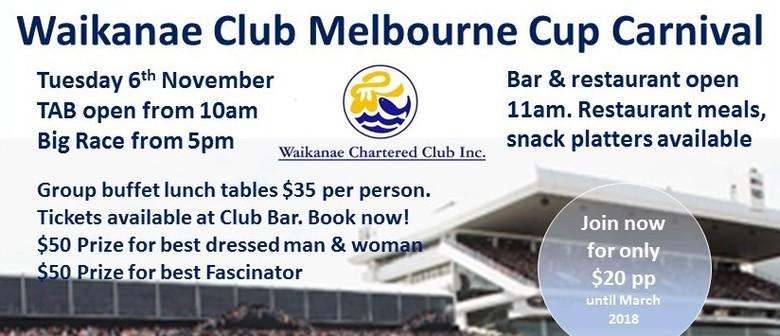 Waikanae Club Melbourne Cup Carnival