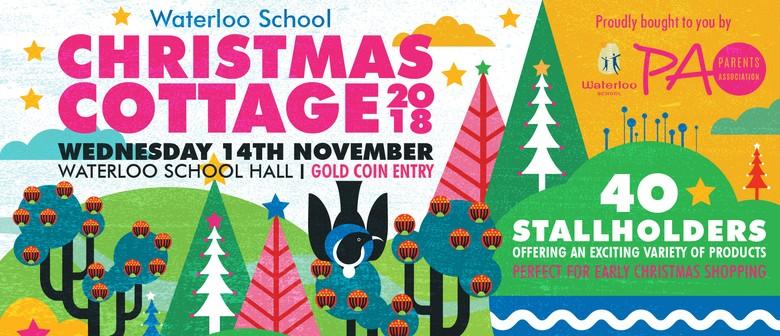 Waterloo School Christmas Cottage
