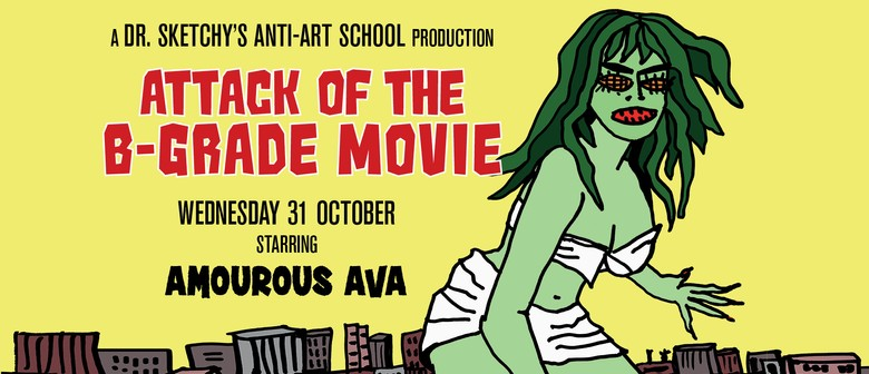 Dr. Sketchy's: Attack of the B-Grade Movie