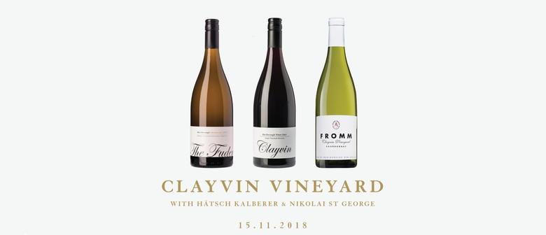 Clayvin Vineyard with Hätsch Kalberer and Nikolai St George