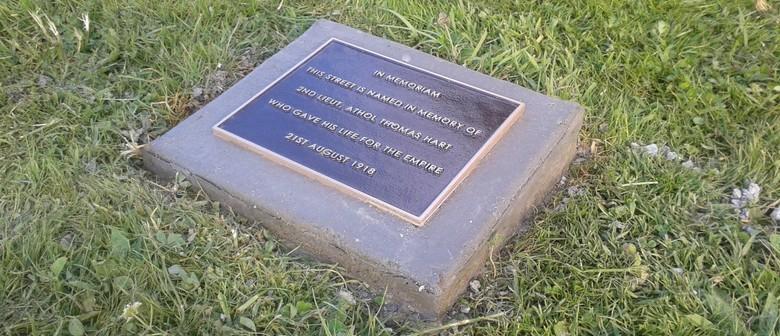 Heritage Walk, Memorial Street Name Plaques