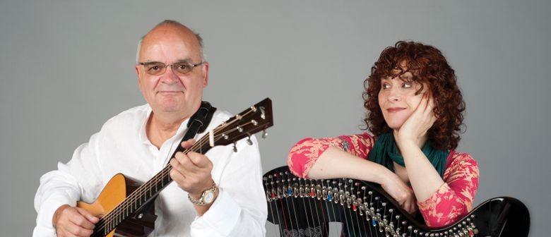 Maire Ni Chatasaigh and Chris Newman : Irish Harp And Guitar