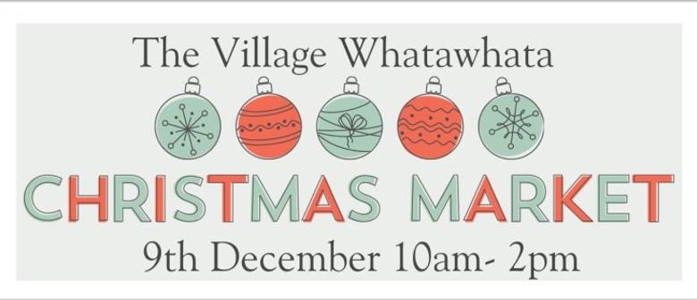 The Village Whatawhata Christmas Market