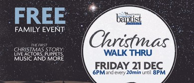 Family Event: Christmas Walk Thru