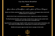 Image for event: Cup Day Breakfast with Veuve Clicquot