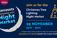 Harcourts Hastings City Christmas Tree Lighting Night Market
