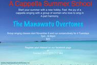 Image for event: A Cappella Summer School
