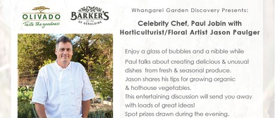 Garden to Table with Celebrity Chef Paul Jobin