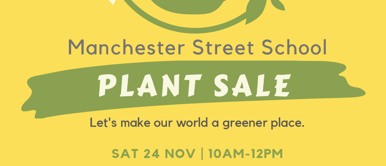 Manchester Street School Annual Plant Sale