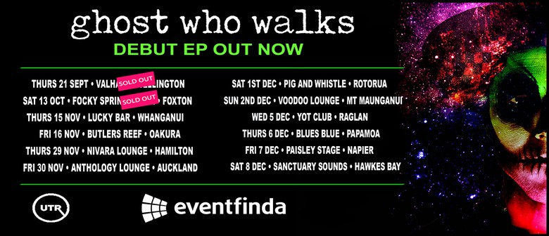 Ghost Who Walks Debut EP Tour