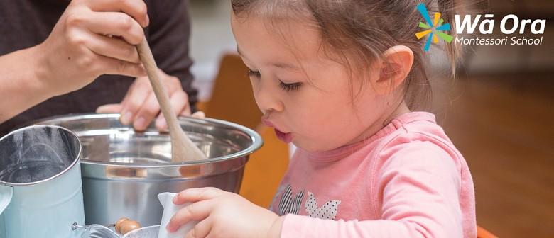 Wā Ora Montessori Playgroup Open Morning