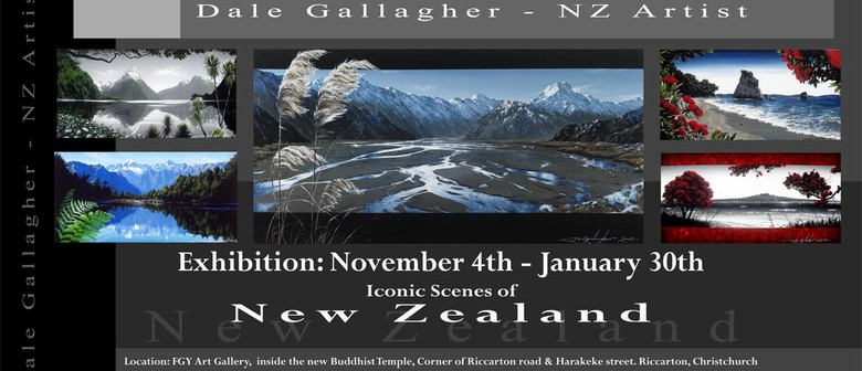 Iconic Scenes of New Zealand