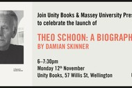 Image for event: Book Launch - Theo Schoon by Damian Skinner