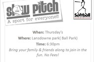 Image for event: Slow Pitch