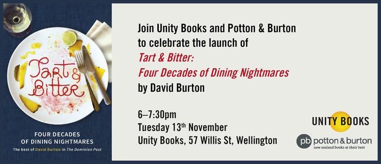 Book Launch - Tart & Bitter by David Burton