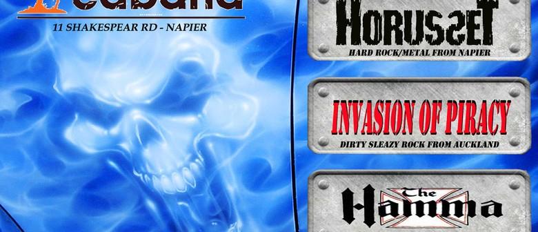 Horusset + Invasion Of Piracy & The Hamma