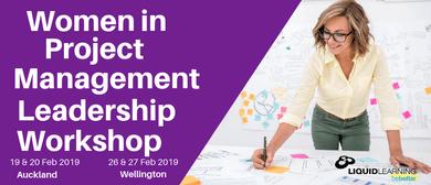 Women in Project Management Leadership Workshop