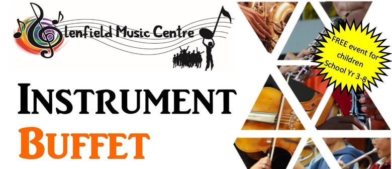Glenfield Music Centre's Instrument Buffet
