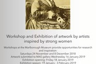 Image for event: Strong Women Standing Tall Exhibition