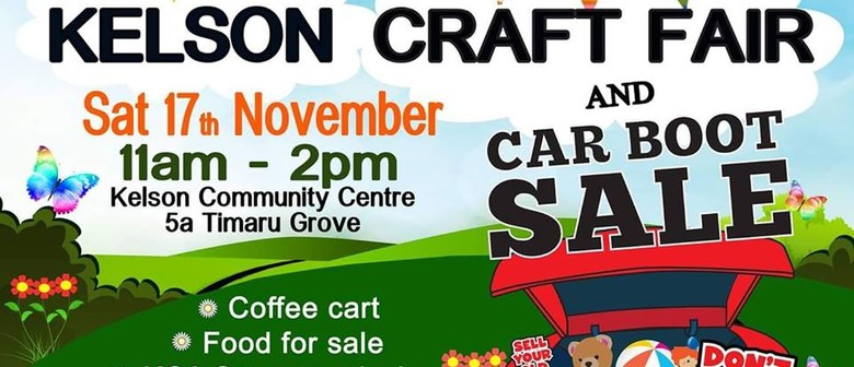 Kelson Craft Fair and Car Boot Sale