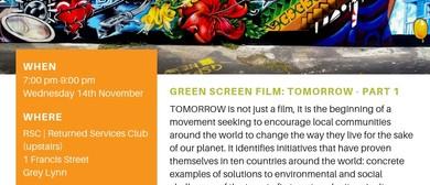 Green Screen: Tomorrow (Part 1)