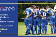 Image for event: Hamilton Wanderers v Eastern Suburbs (Football)