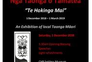 Image for event: Nga Taonga o Tamatea - Te Hokinga Mai