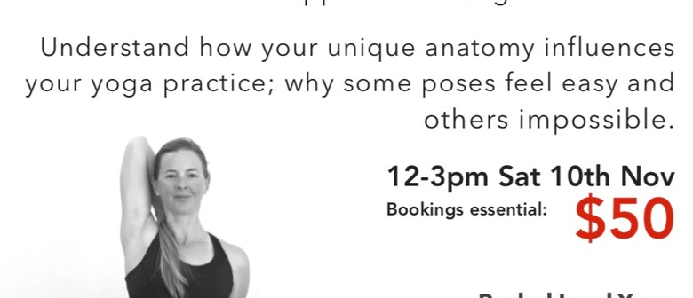 Yoga Anatomy Workshop