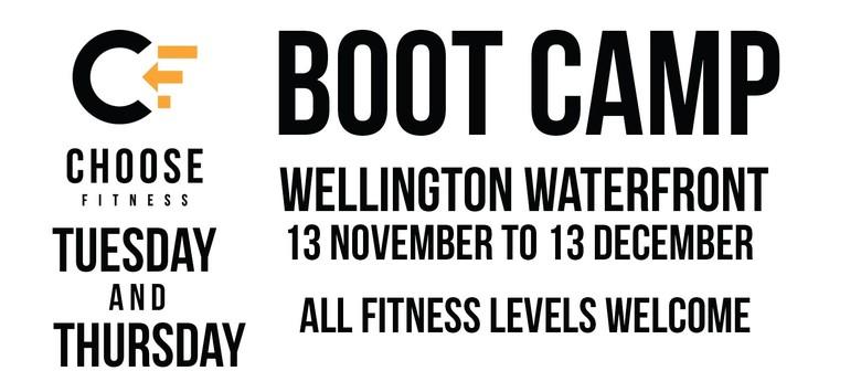 Wellington Waterfront Bootcamp