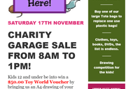 Image for event: Charity Garage Sale