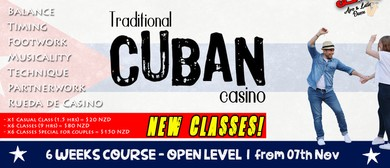 Cuban Casino - Open Level (6 Weeks Course)