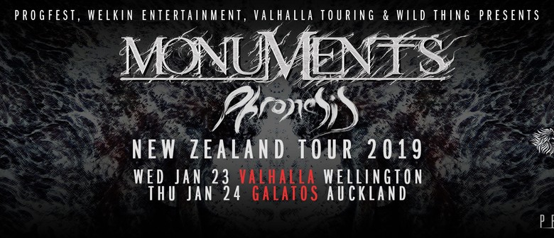 Monuments 'Phronesis' NZ Tour 2019