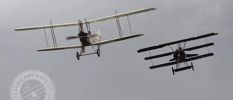 NZ Warbirds Association WW100 Armistice Day Flypast