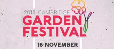 Cambridge Garden Festival