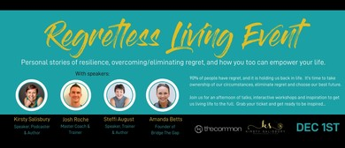 The Regretless Living Event - Motivational Speakers